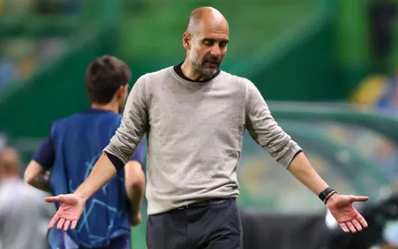 Pep Guardiola şanssızlığa bağladı: Skor dışında her şeyi yaptık