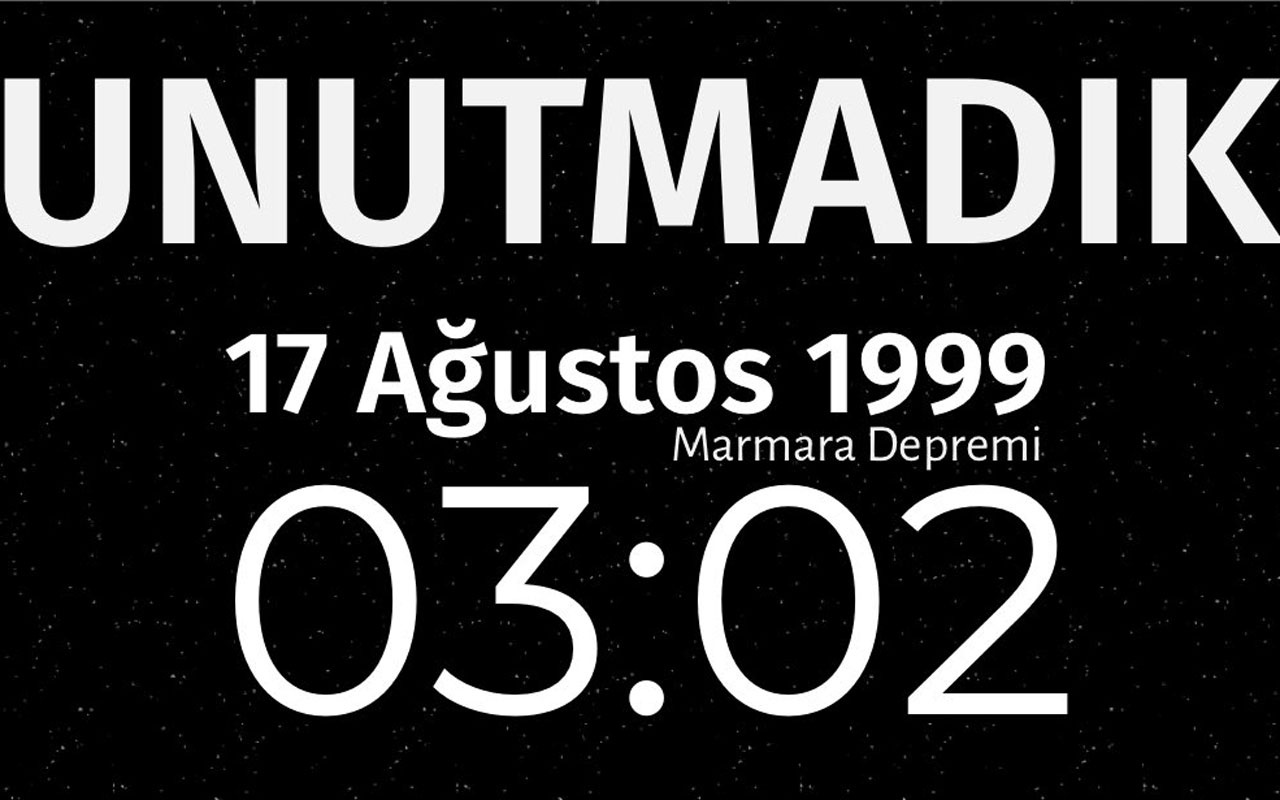 17 Ağustos Marmara Depremi'nin üzerinden 21 yıl geçti! 45 saniyede neler yaşandı?