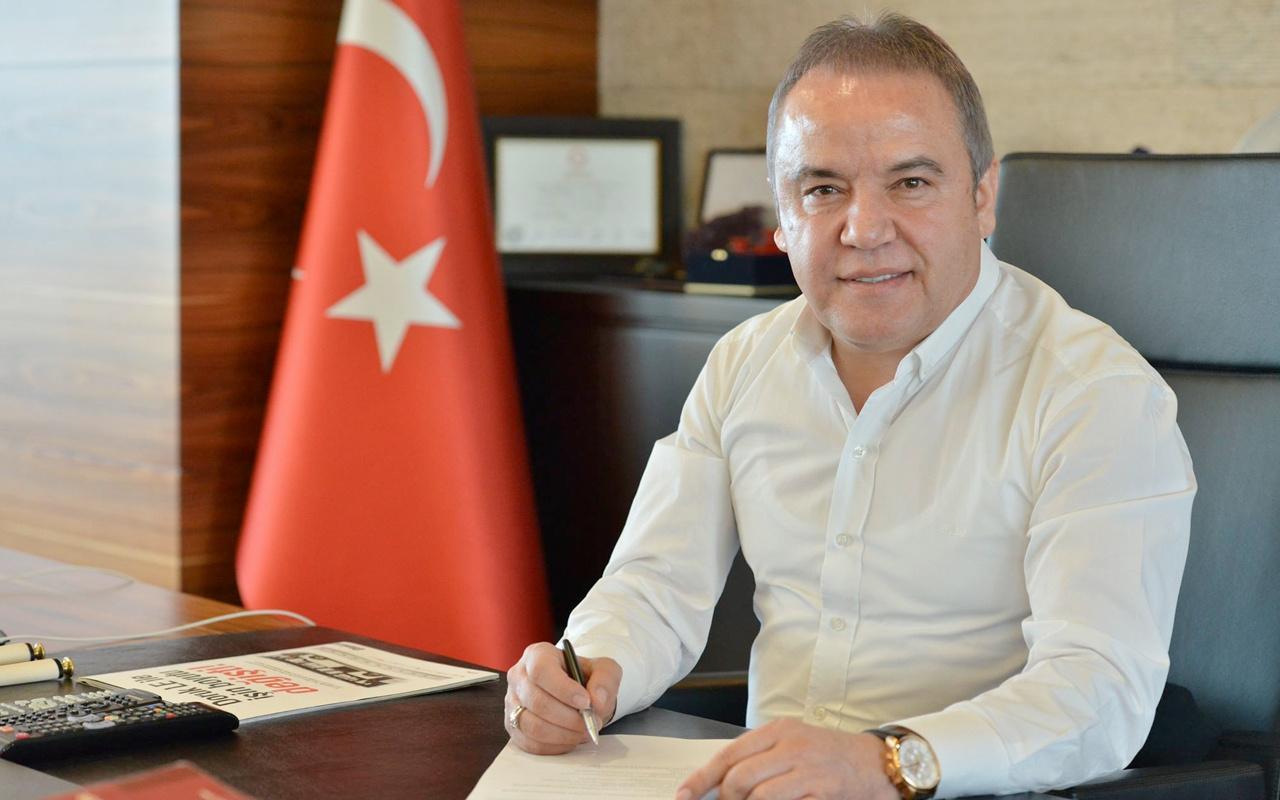 Antalya Büyükşehir Belediye Başkanı Muhittin Böcek'in koronavirüs testi pozitif çıktı