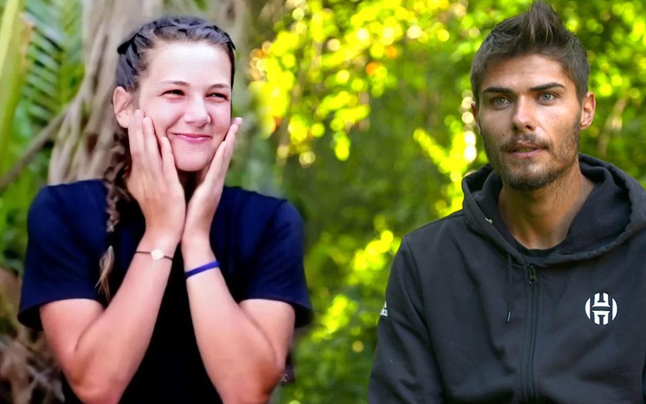 Survivor Barış Murat Yağcı ve Nisa Bölükbaşı sarmaş dolaş yakalandı