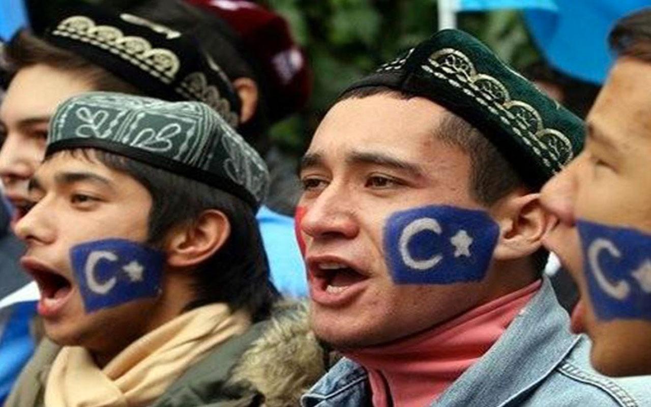 Çin hükümetinin, İngiltere'de yaşayan Uygur Türklerini ve Çinli muhalifleri tehdit ettiği iddiası