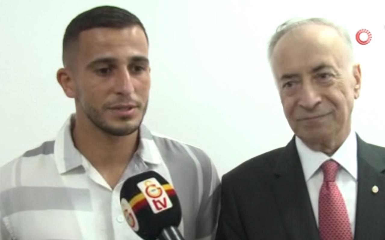 Omar Elabdellaoui'den Mustafa Cengiz'e teşekkür