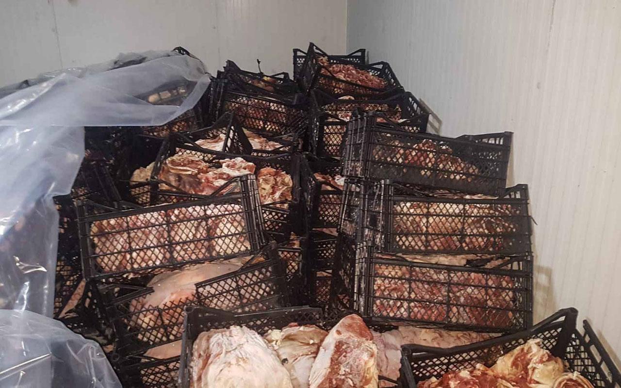 Adana'da 39 ton kokmuş eti vatandaşa yedireceklerdi
