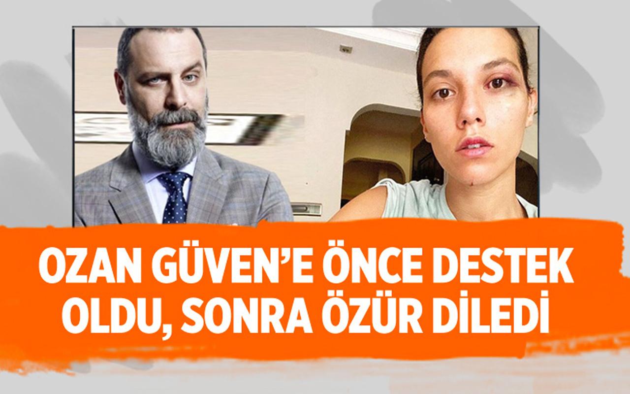 Deniz Bulutsuz'u darbeden Ozan Güven'e Halit Ergenç'ten destek!