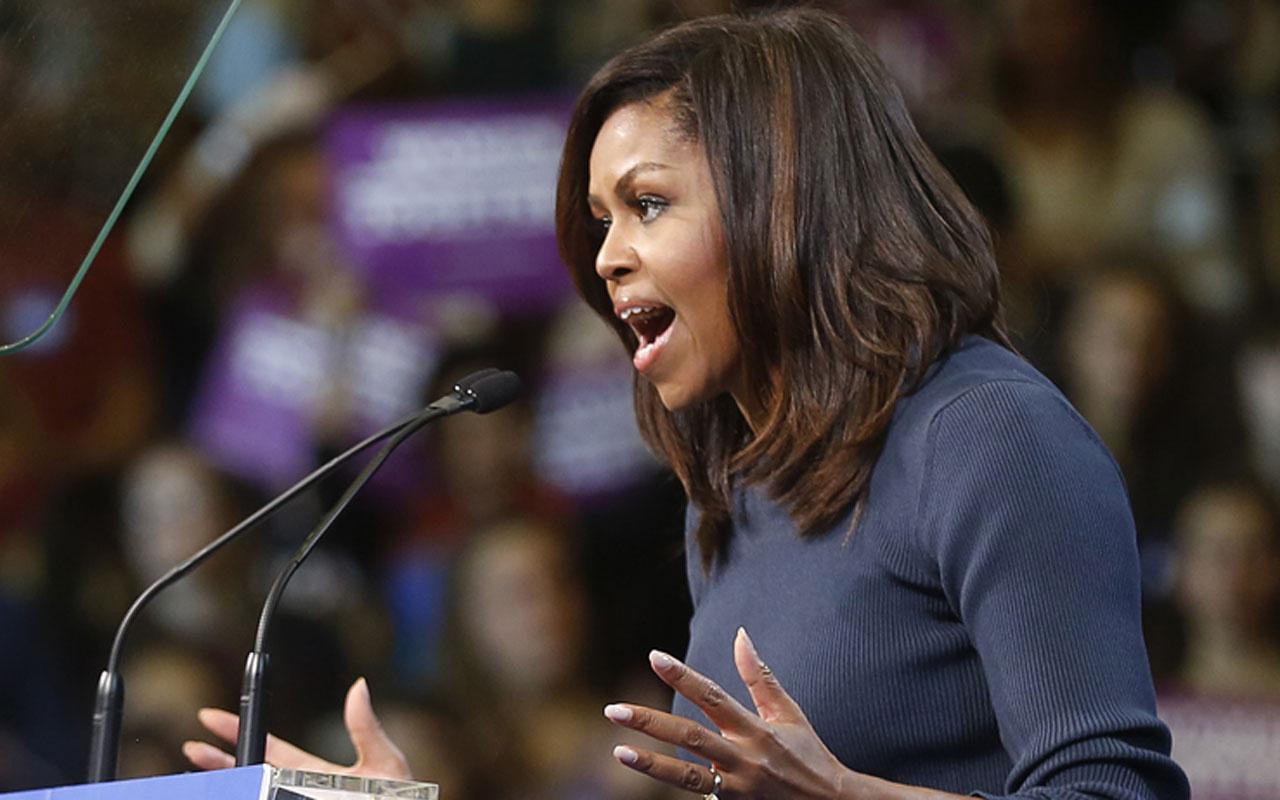 Michelle Obama Trump'ı yerden yere vurdu! 'Yanlış başkan'