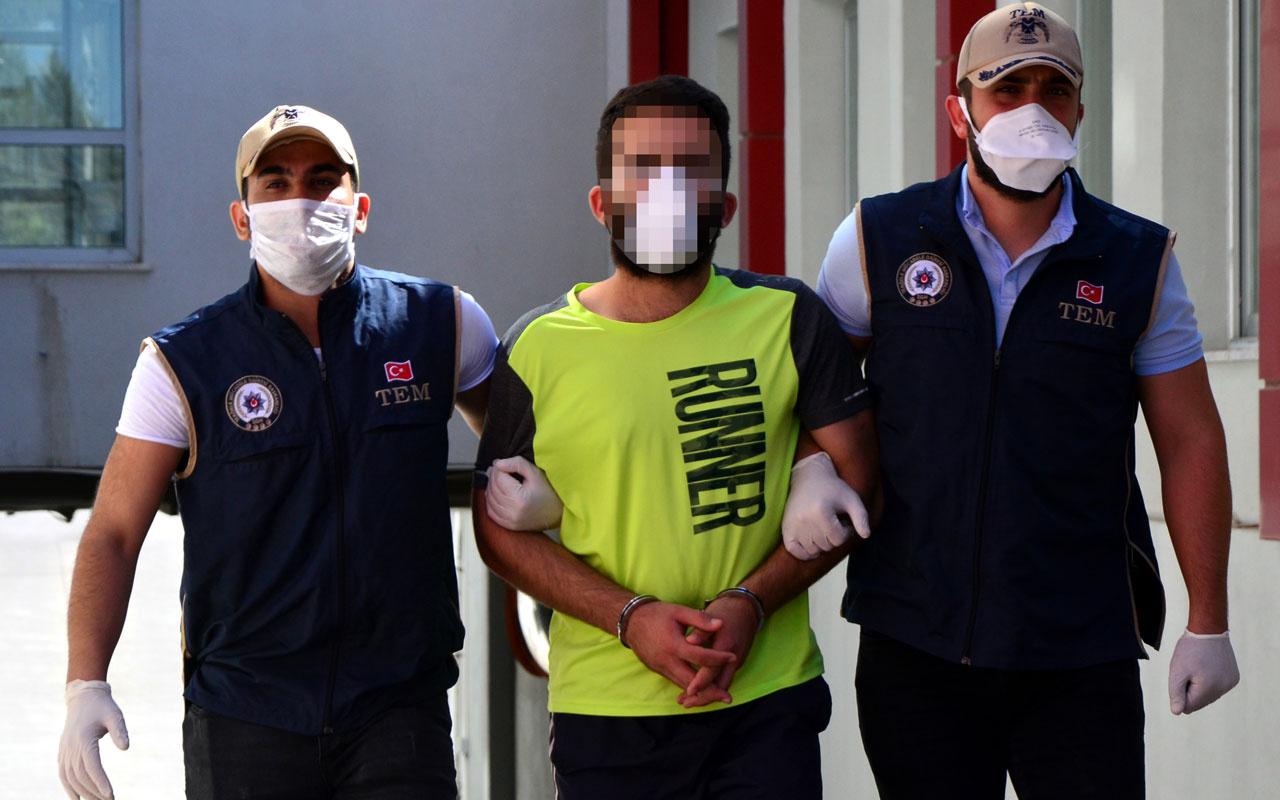 Adana'da HTŞ'nin sözde 'sınır nöbetçisi' yakalandı