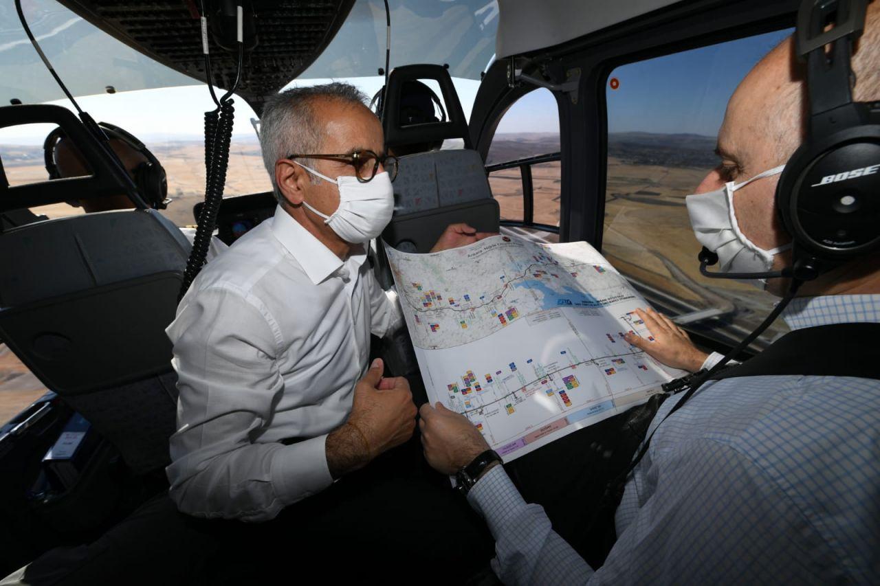 Ulaştırma ve Altyapı Bakanı müjdeyi verdi! Ankara-Niğde Otoyolu Ağustos sonunda açılıyor
