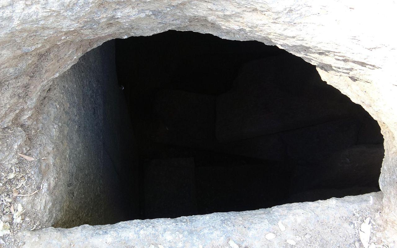 İlk kez böylesi bulundu Aydın'da yazıtlı mezar arkeologları heyecanlandırdı