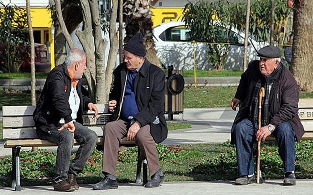 Yozgat'ta 65 yaş ve üstü vatandaşlara Kovid-19 nedeniyle kısıtlamalar getirildi