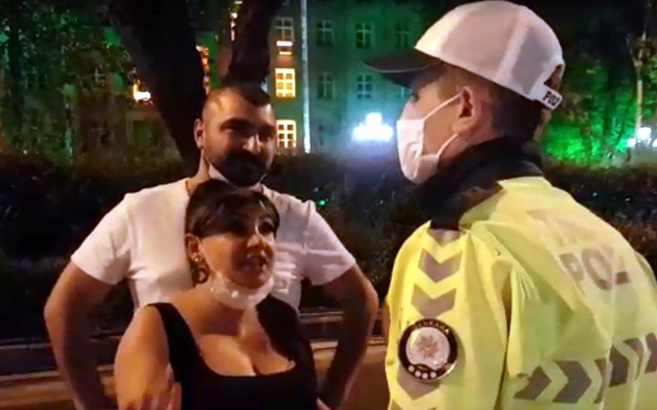 Ankara'da taksiciyi savunan kadın dil döktü: Ben yaptım ama onu...