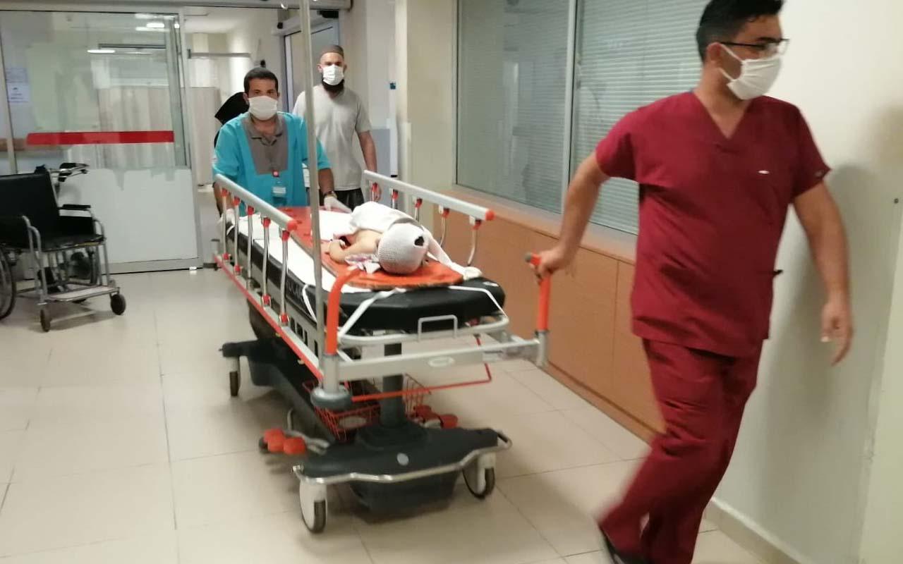 Bursa'da balkonda oyun oynarken 3'üncü kattan düştü