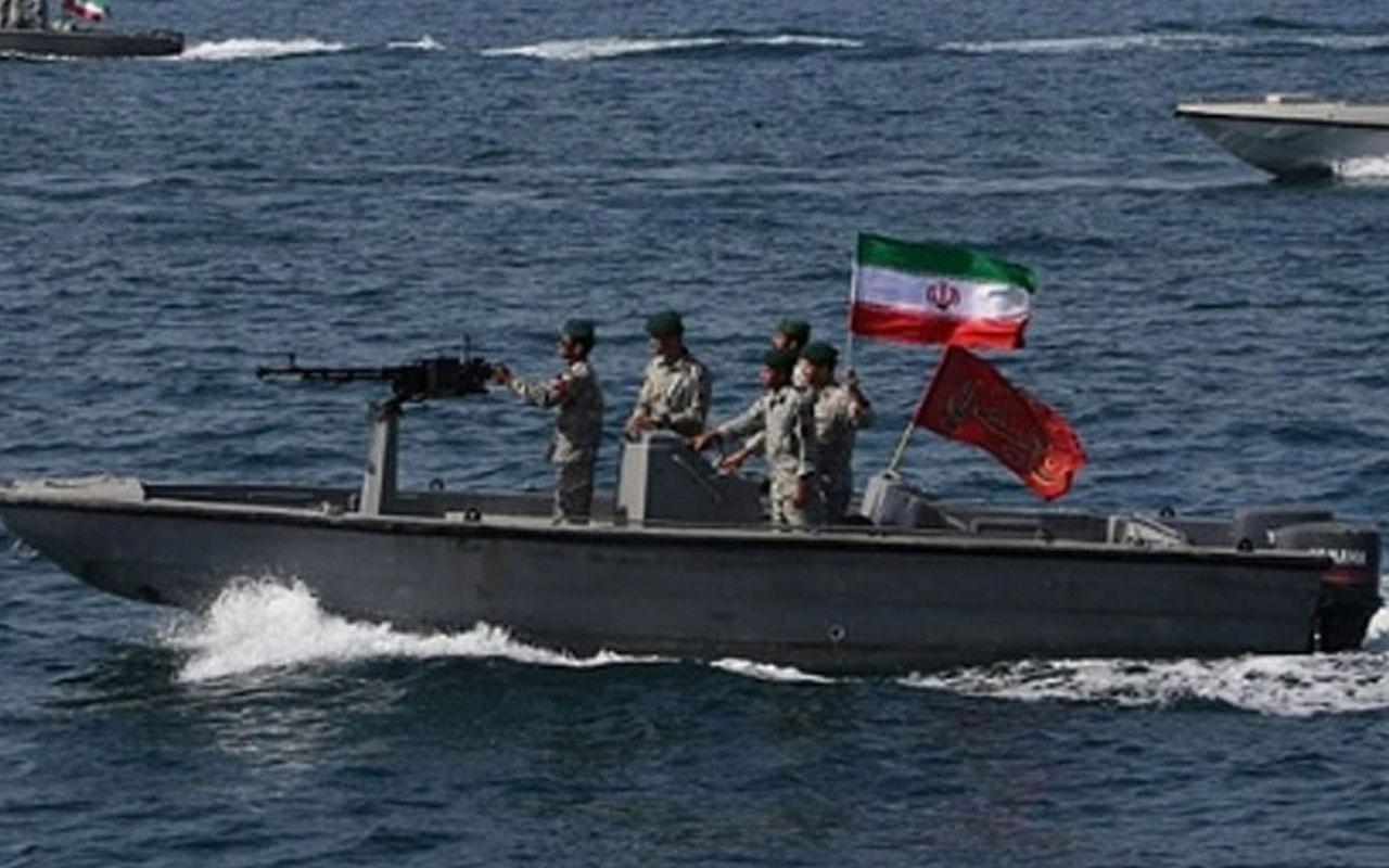 İran BAE gemisine el koydu mürettebatı gözaltına aldı