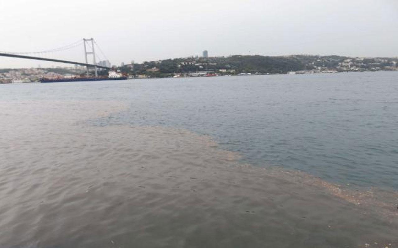 İstanbul Boğazı'na çamur aktı! Bu hale geldi