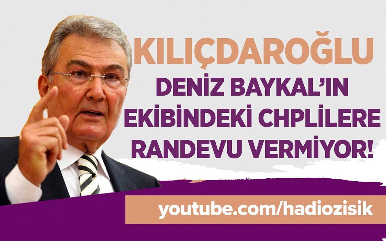 Kılıçdaroğlu Deniz Baykal'ın ekibindeki CHP'lilere neden randevu vermiyor?