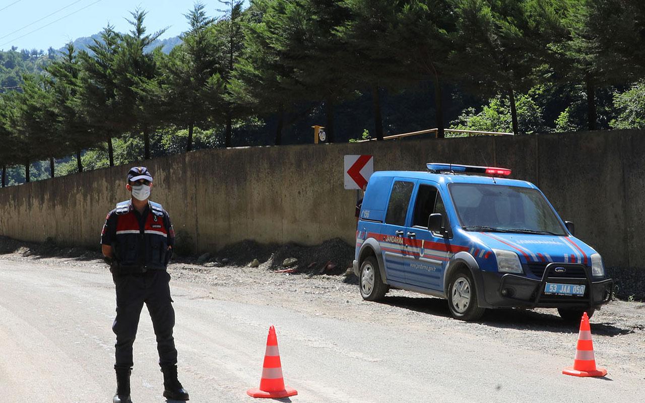 Çankırı'da bir köy karantinaya alındı