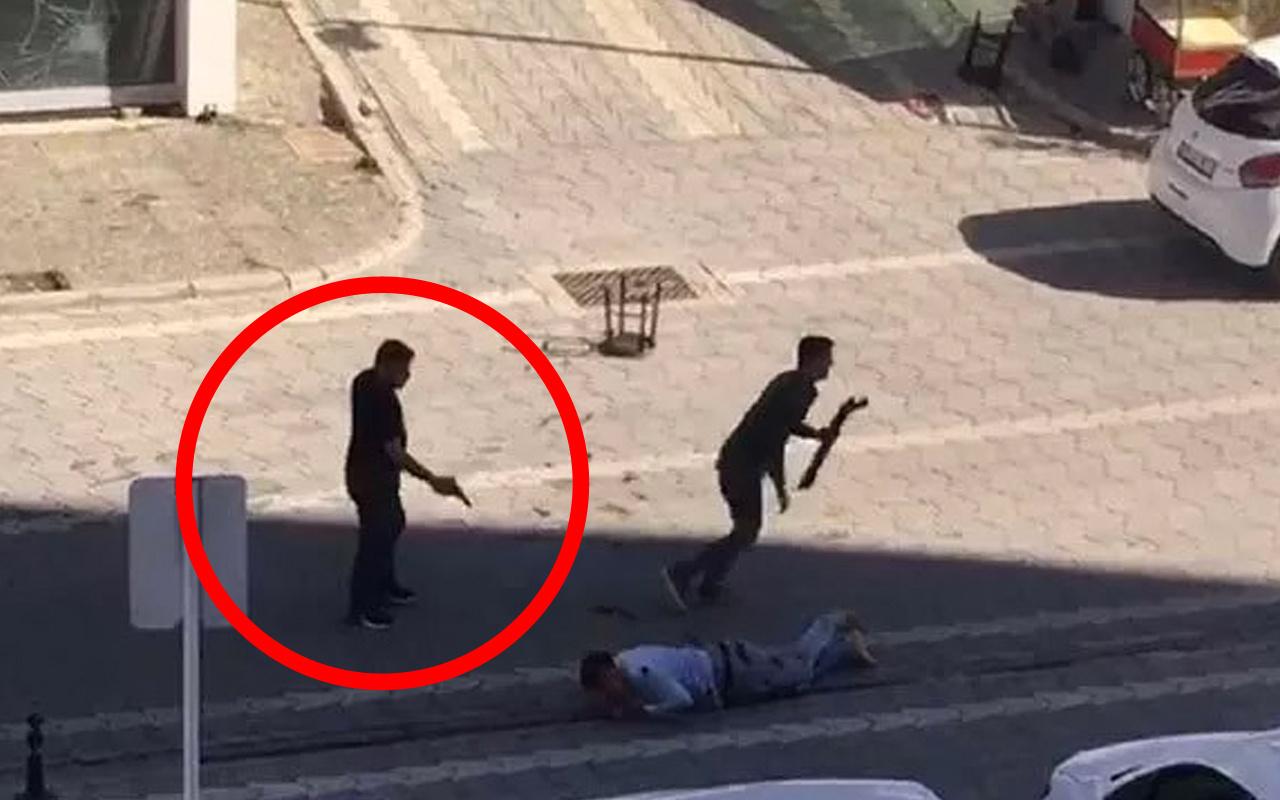Samsun'da sokak ortasında tüyler ürperten infaz! Dipçik ile düşürüp kafasına sıktı