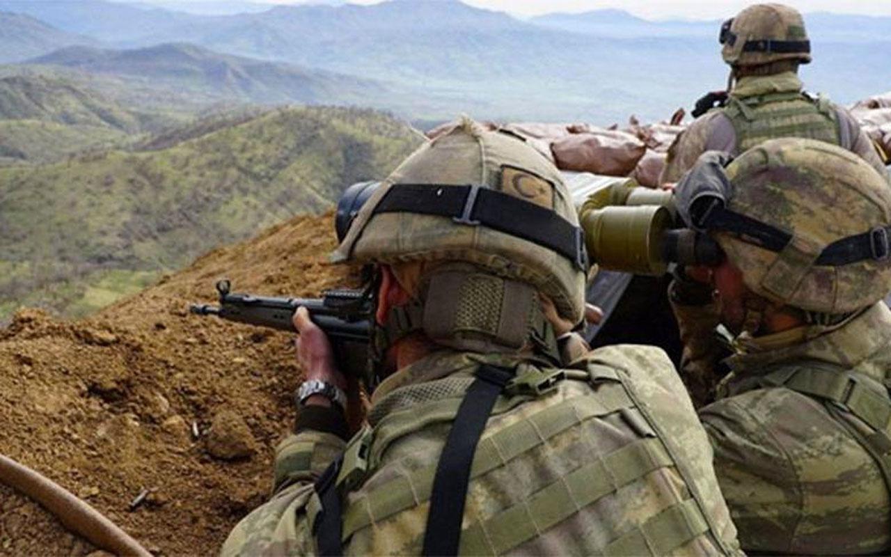 Irak'ın kuzeyindeki 4 PKK'lı terörist etkisiz hale getirildi