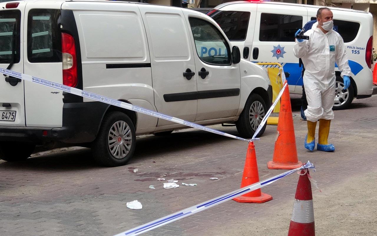 İzmit'te metrelerce sürünüp sokakta yardım çığlığı attı
