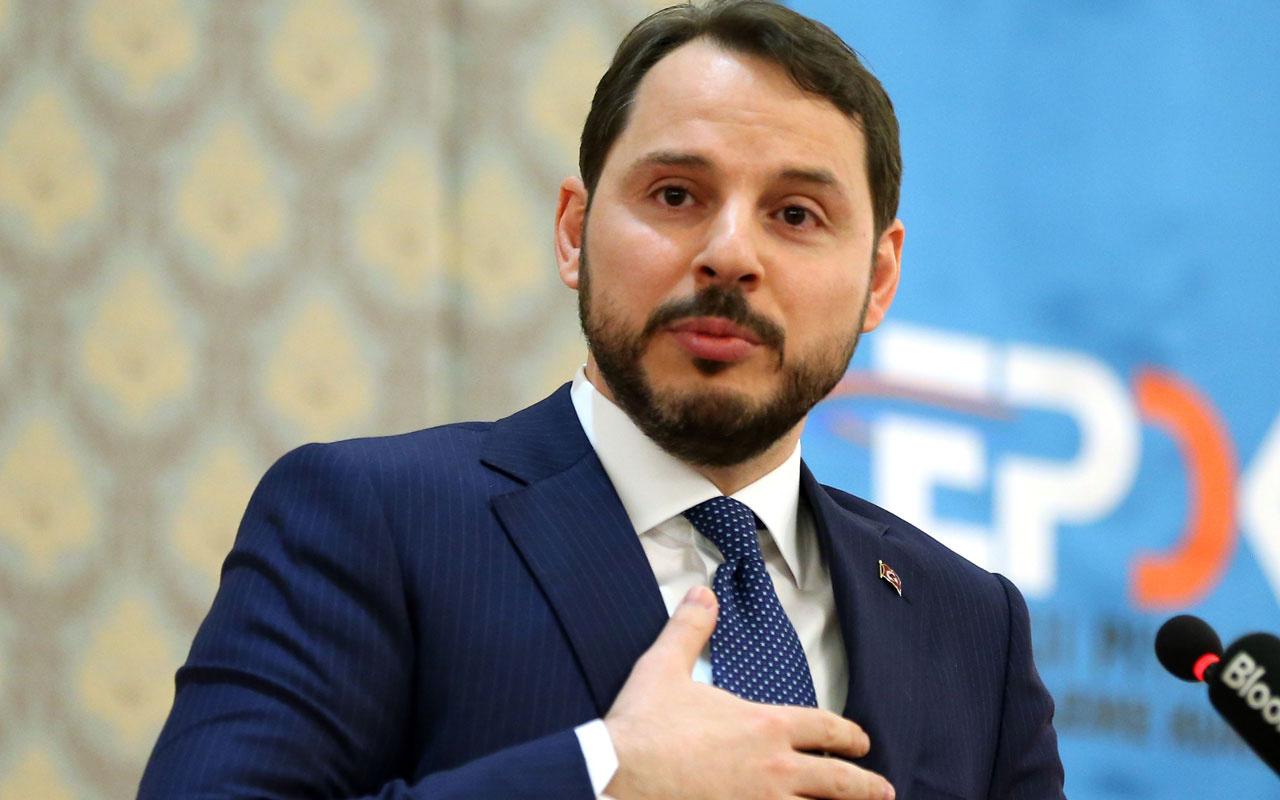 Berat Albayrak'tan doğalgaz açıklaması: Cari fazlayı konuşacağız