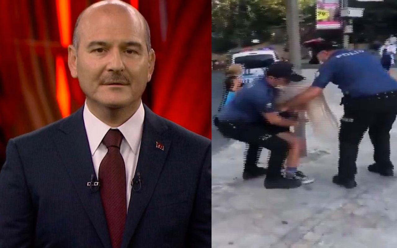 Süleyman Soylu'dan Kadıköy'de açığa alınan polislerle ilgili flaş hamle