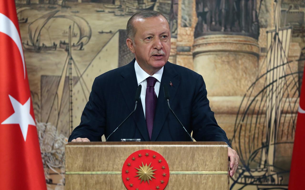 Cumhurbaşkanı Erdoğan'dan ''30 Ağustos'' mesajı