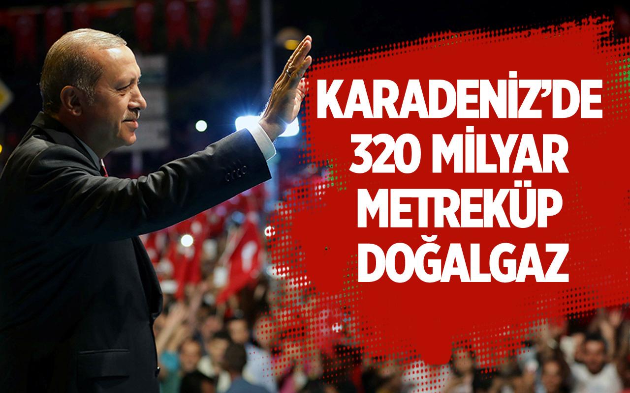 Başkan Erdoğan müjdeyi açıkladı: ''Tarihin en büyük doğalgaz keşfini bulduk''