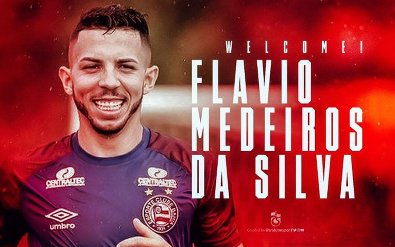 Trabzonspor, Flavio Medeiros da Silva'yı kadrosuna kattı