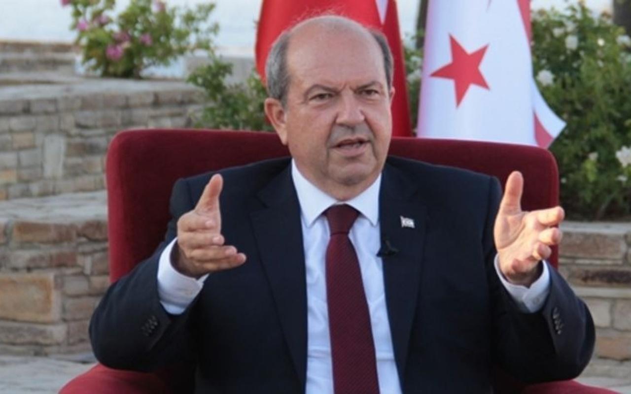 KKTC Başbakanı Ersin Tatar'dan doğalgaz keşfi açıklaması! Memnun olduk