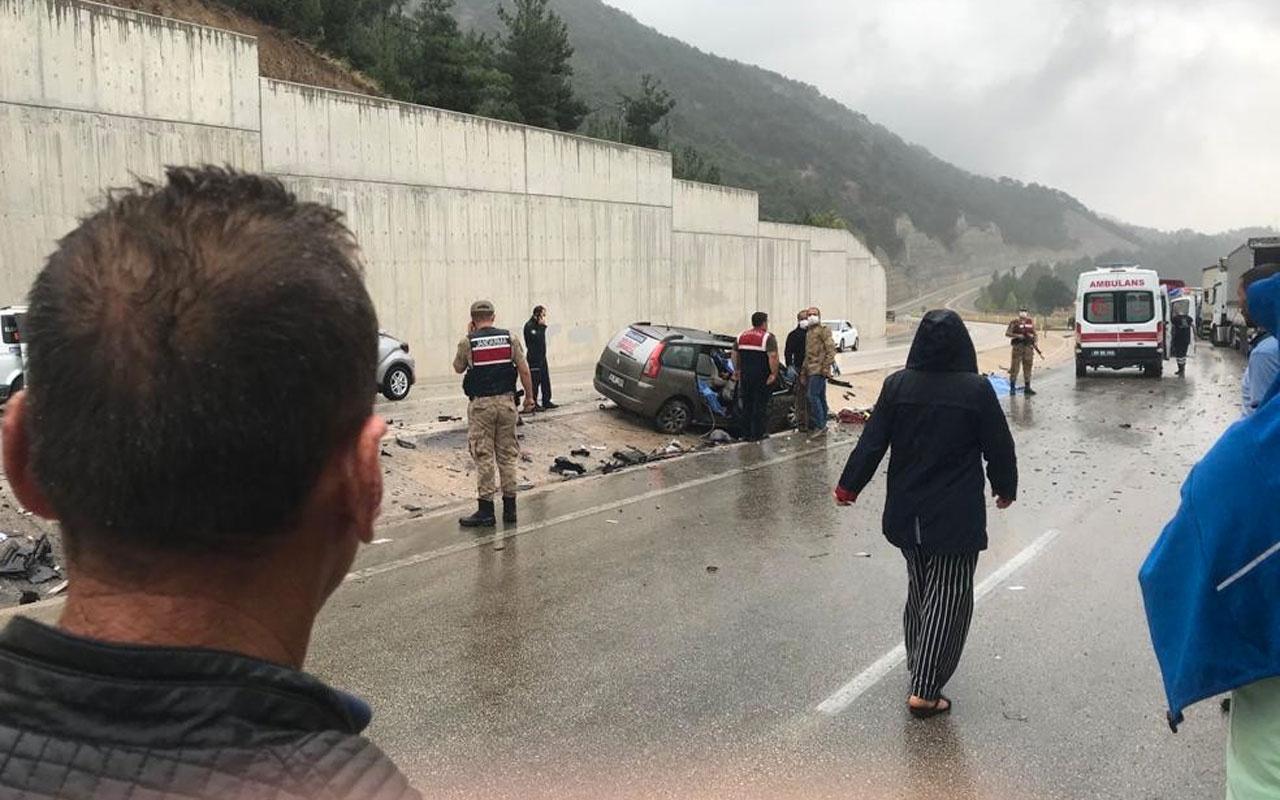 Tokat'ta trafik kazası: 3 ölü 4 yaralı
