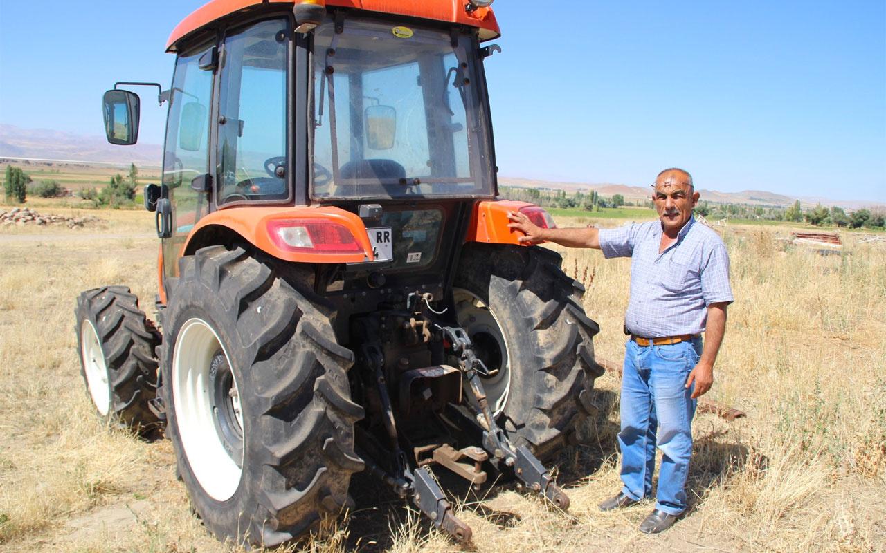 Kayseri'de sıfır kilometre aldığı traktör hayatını kabusa çevirdi intihar bile düşünüyorum