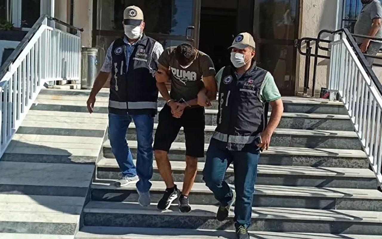 Aydın'da hırsızlık şüphelisi saklandığı camide yakalandı