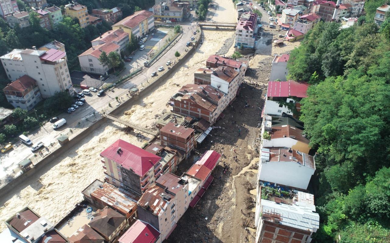 Cumhurbaşkanı Erdoğan'dan Giresun'daki sel felaketi için talimat