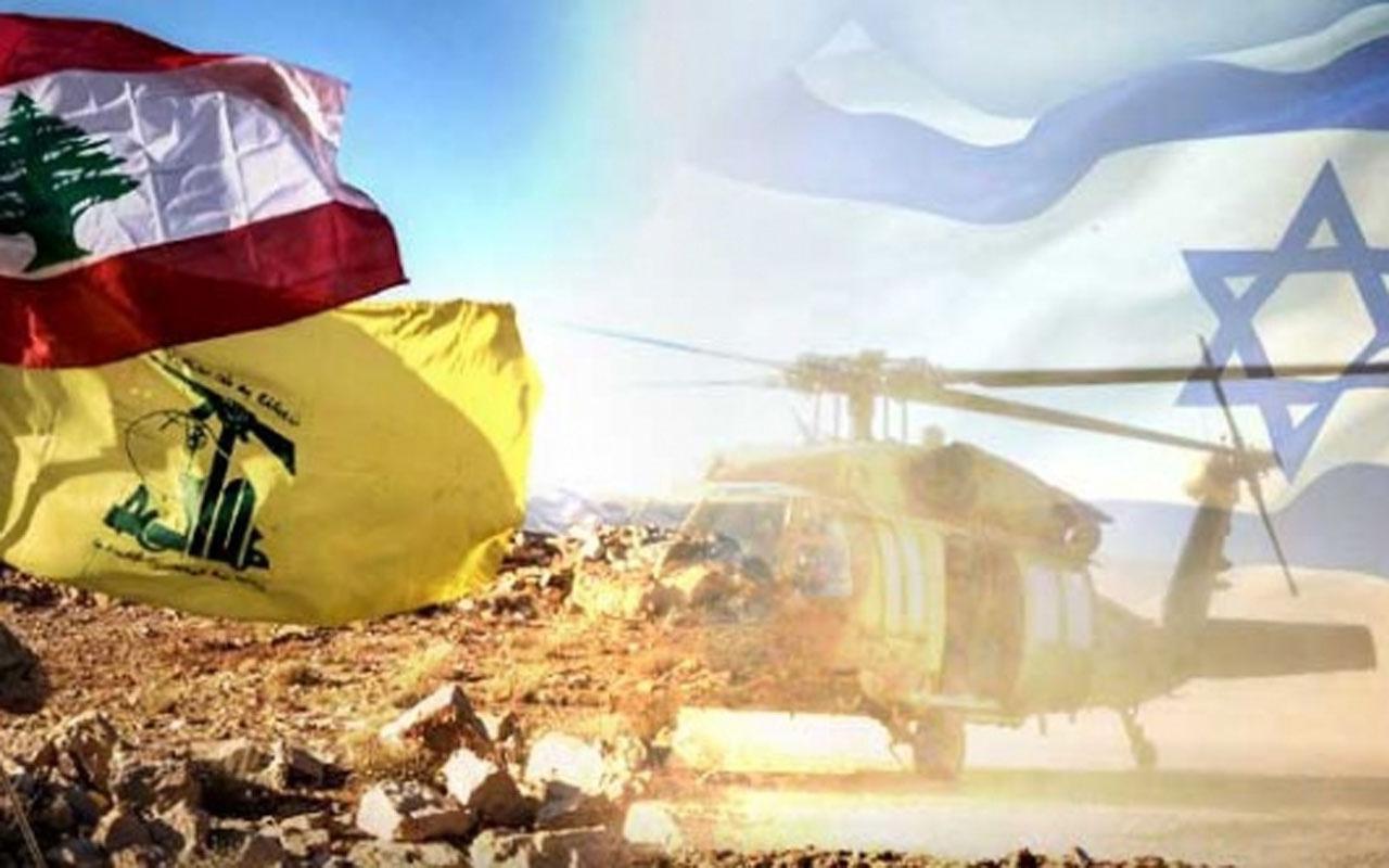 Hizbullah, İsrail'e ait İHA'yı düşürdü! Hemen açıklama geldi