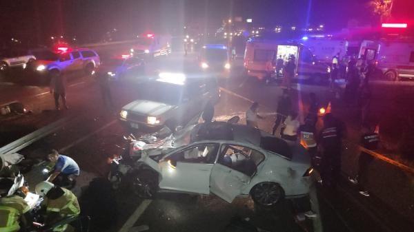 Bursa İnegöl'de katliam gibi kaza! 4 ölü, 6 yaralı var
