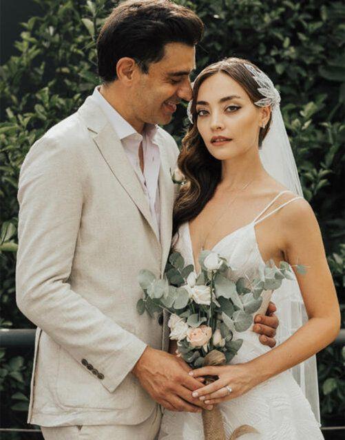 Cansel Elçin Zeynep Tuğçe Bayat ile evlendi Instagram'da böyle duyurdu