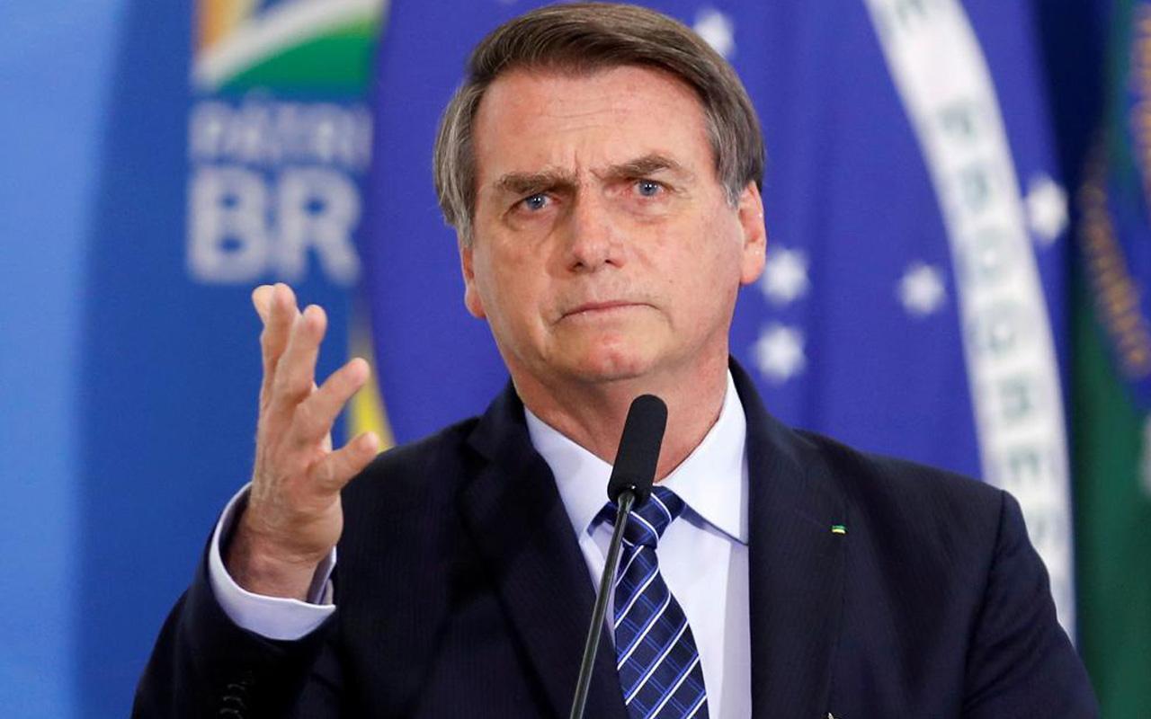 Brezilya Cumhurbaşkanı Bolsonaro yolsuzluk ithamına çıldırdı! Yüzünü parçalarım...