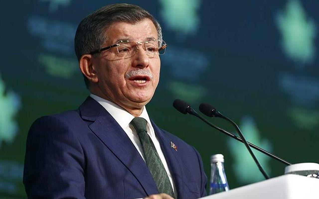 Ahmet Davutoğlu'ndan Bakan Ersoy'a sert tepki! Onur kelimesinin sizin için bir anlamı var mı?