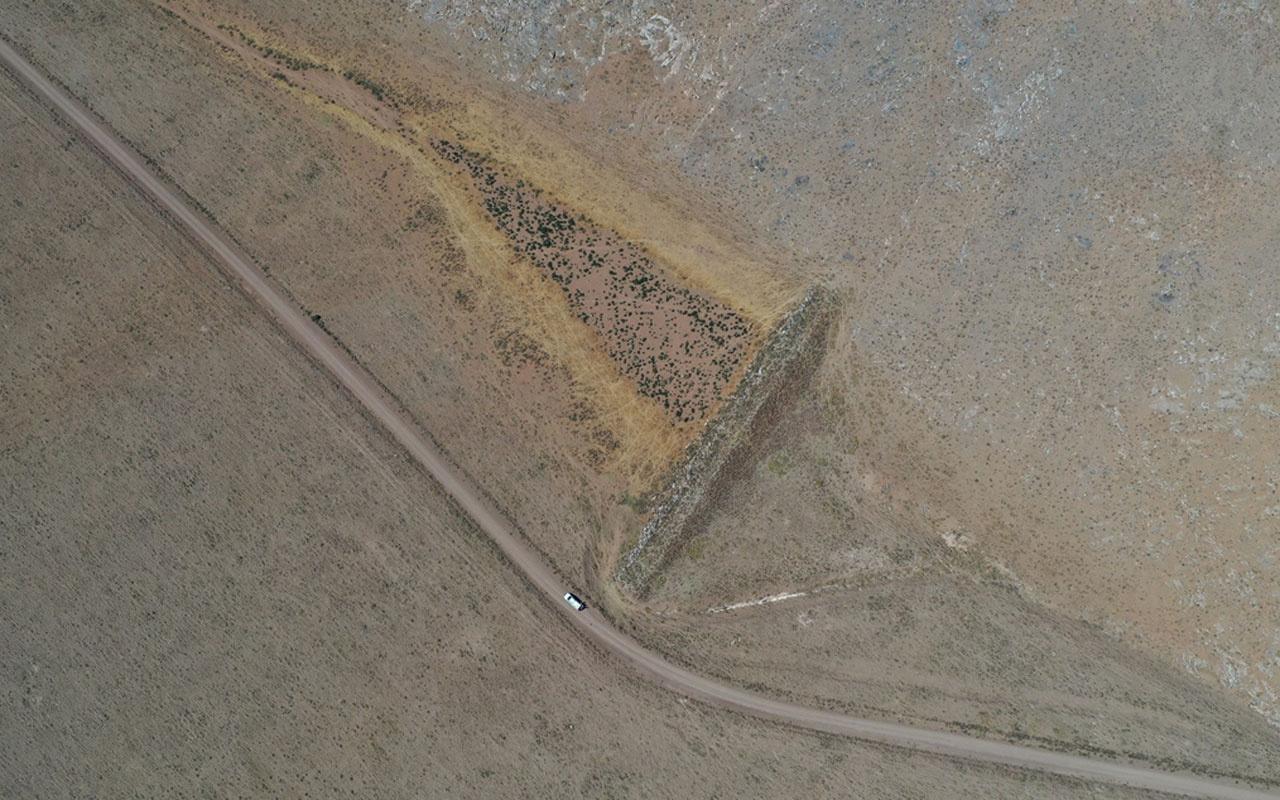 Konya'da 110 metre uzunluğunda 10 metre yüksekliğinde bent bulundu