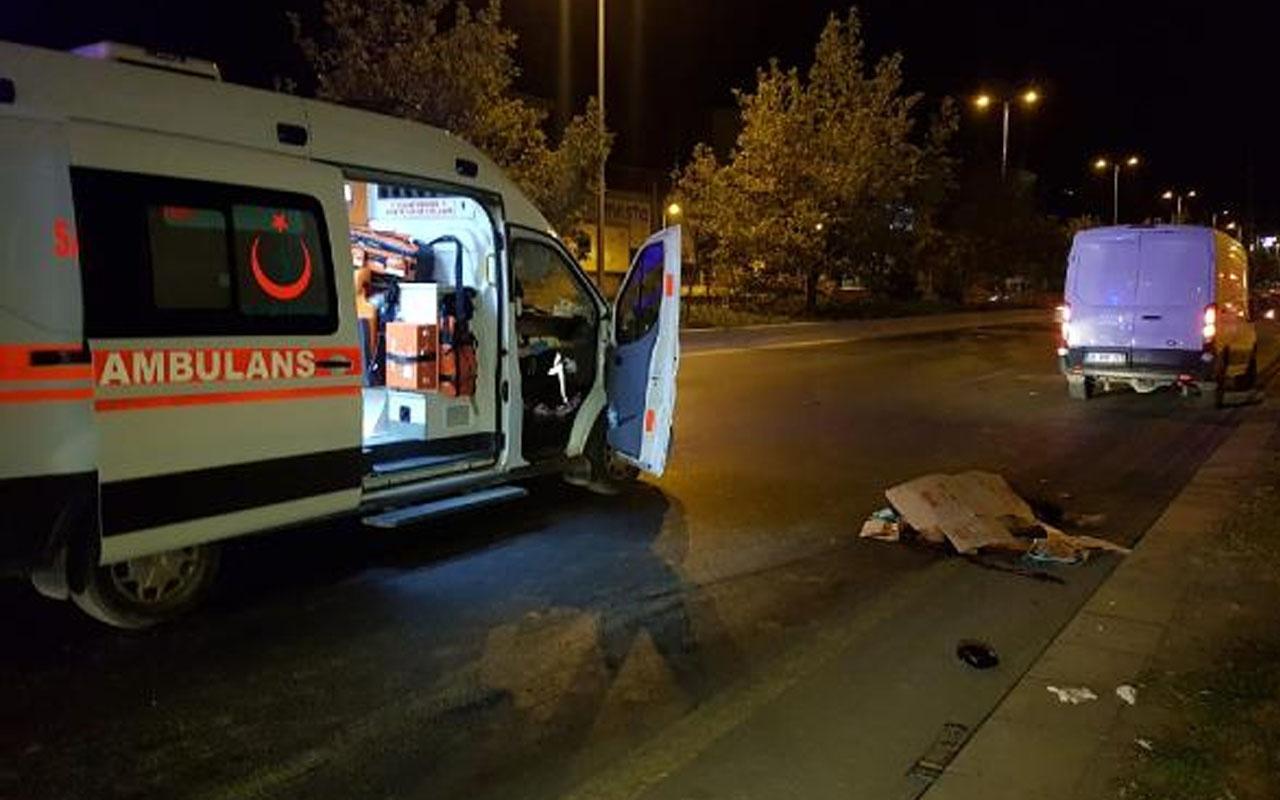 Ankara'da yolun karşısına geçmeye çalışırken öldü