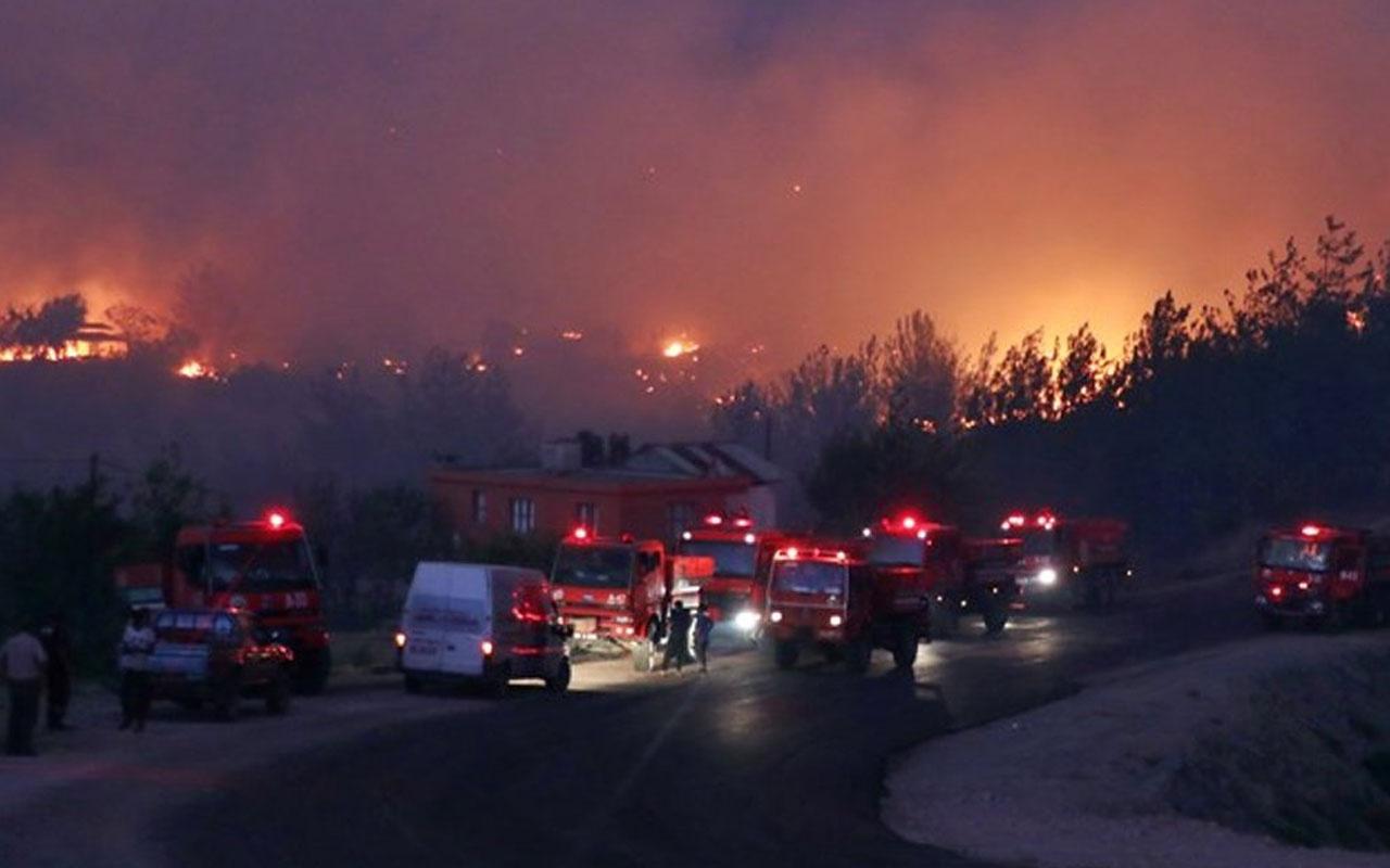 Adana'nın orman yangınıyla ilgili 3 kişi yakalandı