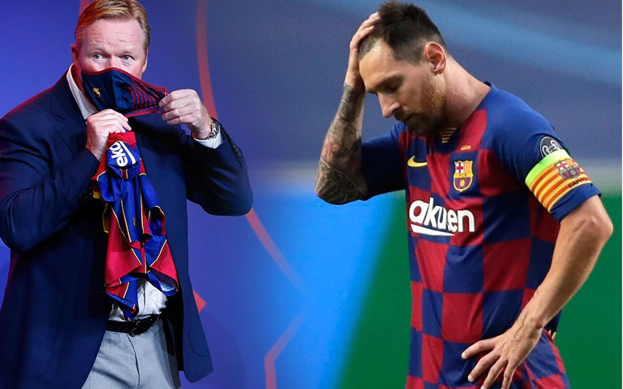 Messi Barcelona'dan ayrılıyor! İşte ipleri koparan diyalog