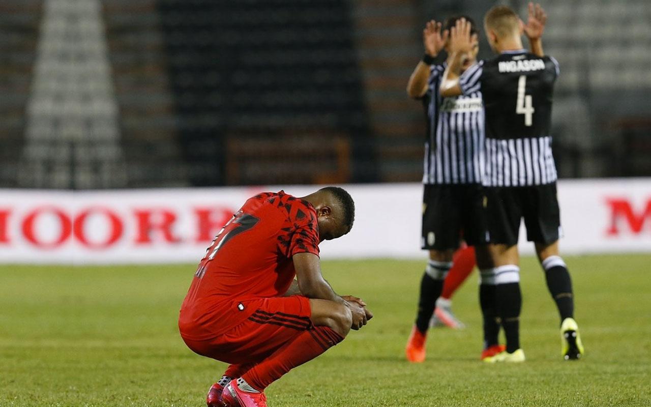 Beşiktaş PAOK'a yenilince fatura Sergen Yalçın'a kesildi! Fiyasko hesap ver
