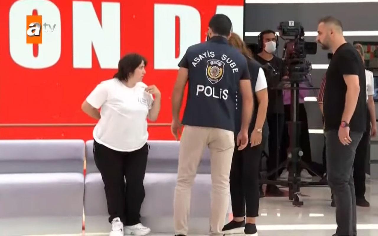 Müge Anlı Tatlı Sert ATV canlı yayında Hami ve Gülüzar gözaltına alındı