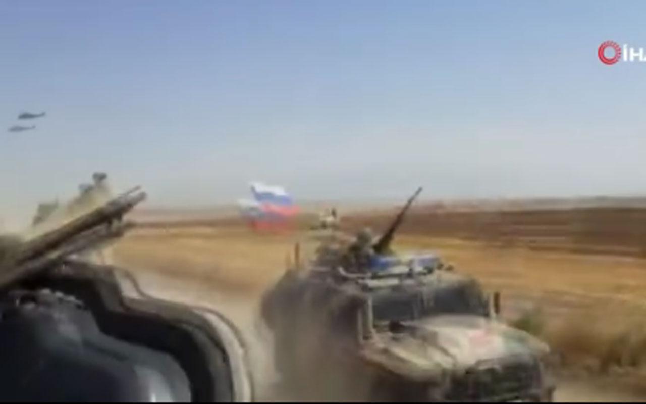 Rus askeri aracı ABD zırhlı aracına böyle çarptı 4 ABD askeri yaralandı işte o anlar