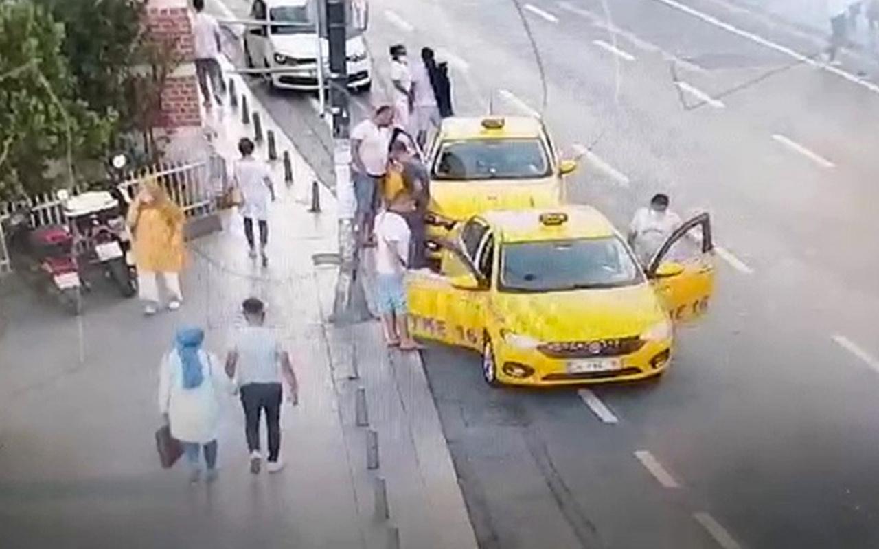 Şişli'de turistin parasını çalan taksici yakalandı