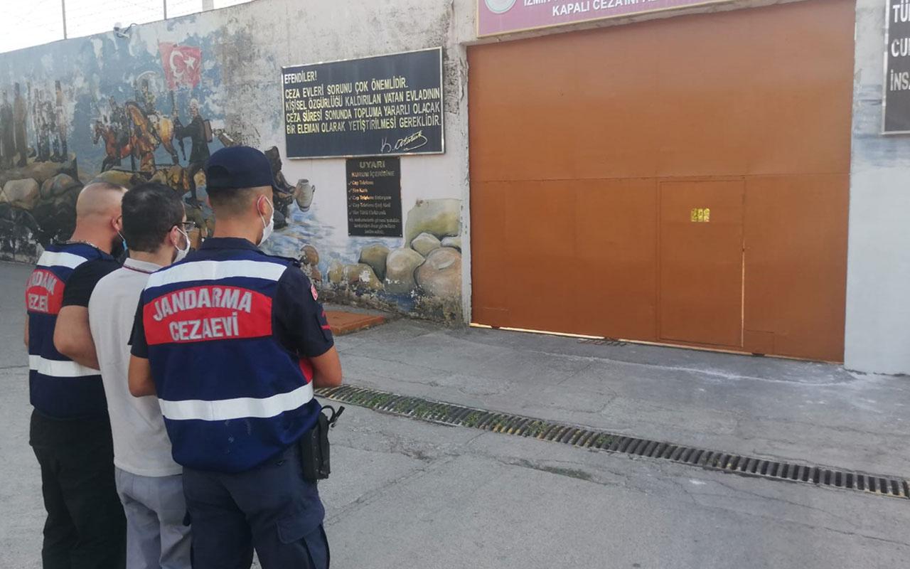 İzmir'de firari FETÖ hükümlüsü yakalandı
