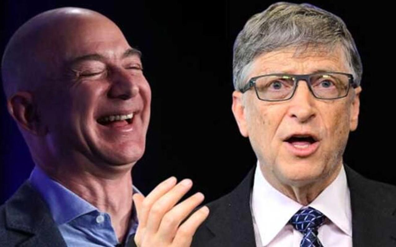 Jeff Bezos, Bill Gates'e fark attı! Net serveti 200 milyar doları aştı
