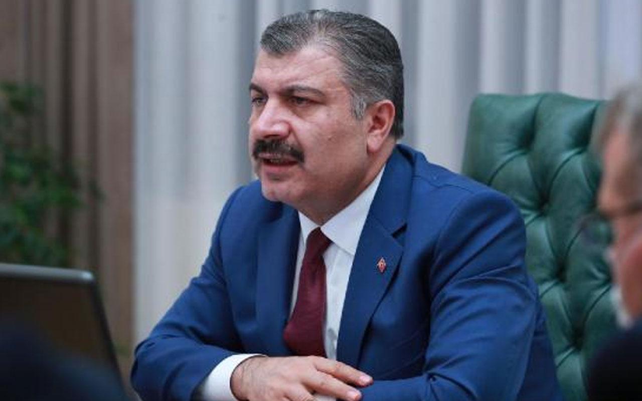 Sağlık Bakanı Fahrettin Koca 6 ilin sağlık müdürü ile görüştü