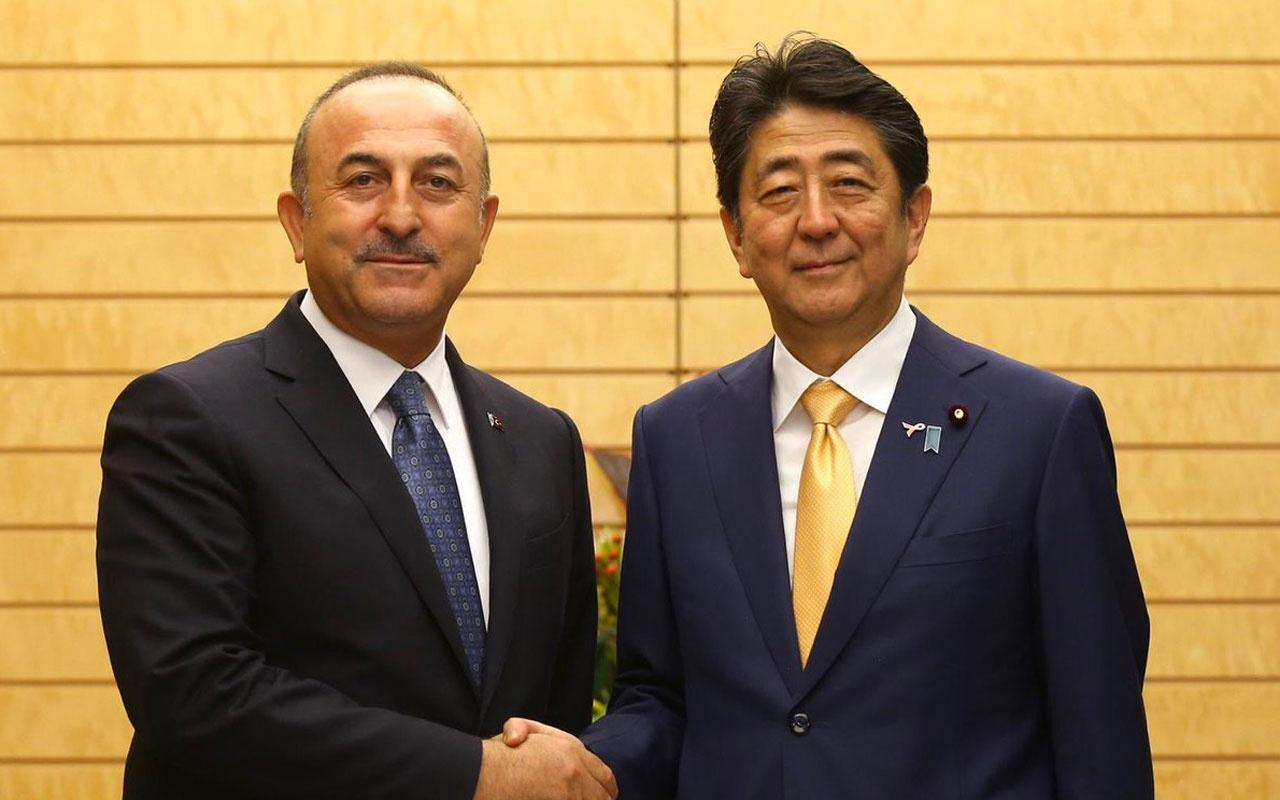 Dışişleri Bakanı Mevlüt Çavuşoğlu: Abe'nin istifasından üzüntü duydum