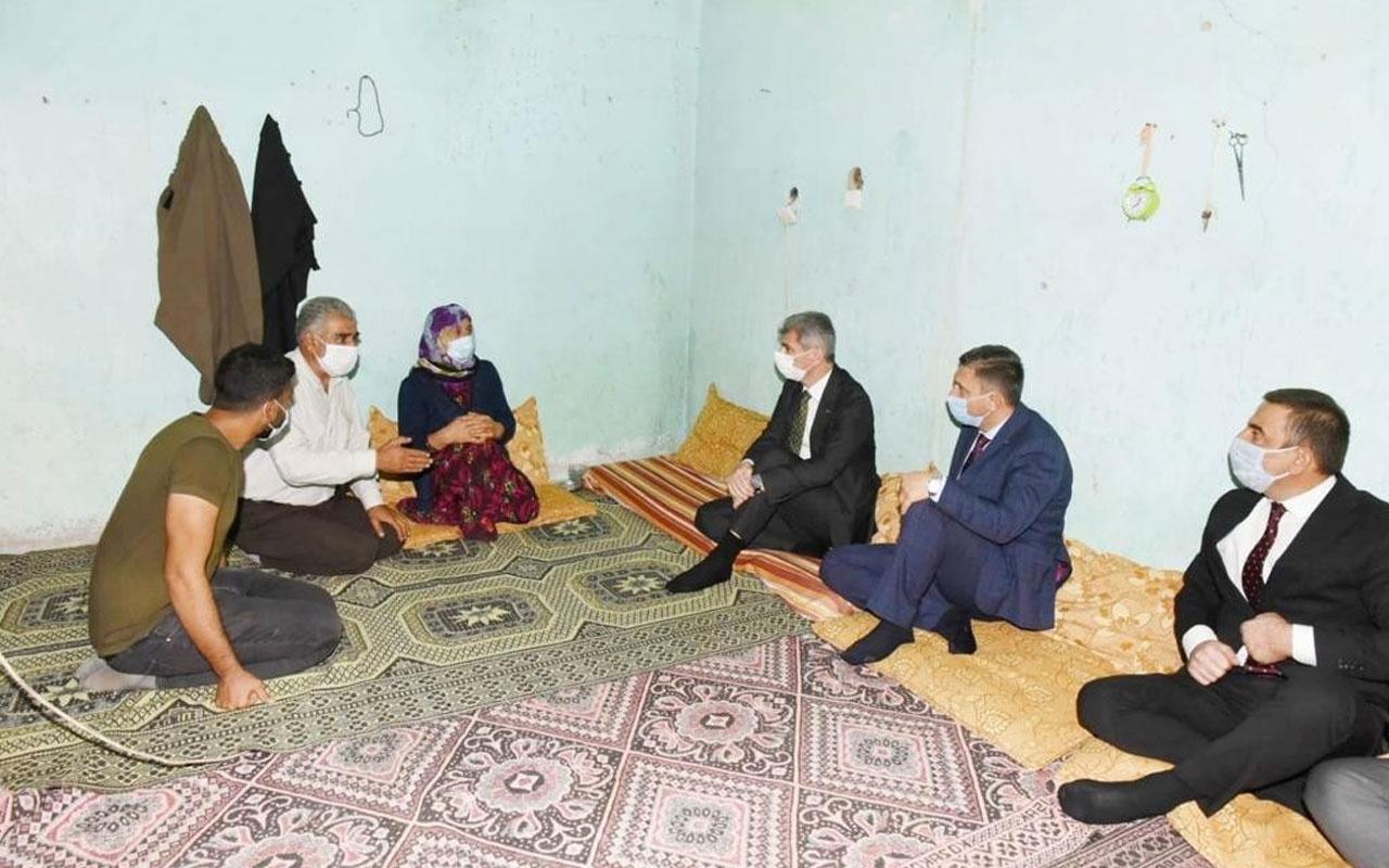 İçişleri Bakan Yardımcısı Muhterem İnce'den İpek Er'in ailesine taziye ziyareti